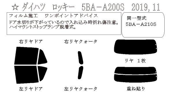 画像1: ロッキー 型式: A200S/A210S 初度登録年月/初度検査年月: R1/11〜 (1)